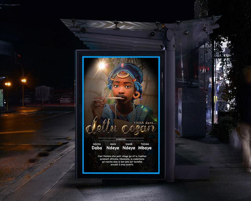 poster serie senegal yama dans dellu cosan - Serie Yama dans Dellu Cosan - Culture et tradition africaine